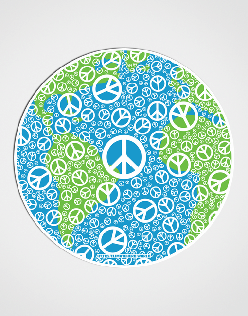 CLIMATEHERO-SIMPLE-PEACE-STICKER