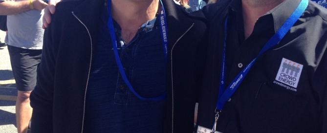 Mark Ruffalo Crowd Energy